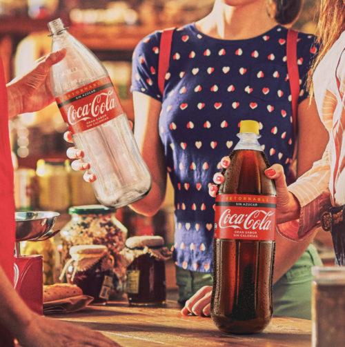 Coca-Cola Paraguay continúa con campaña que impulsa el uso de envases retornables