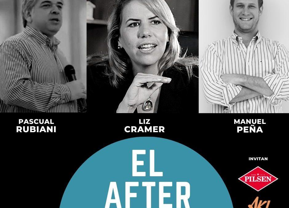 Mañana, el After será con Liz Cramer, Pascual Rubiani y Manuel Peña