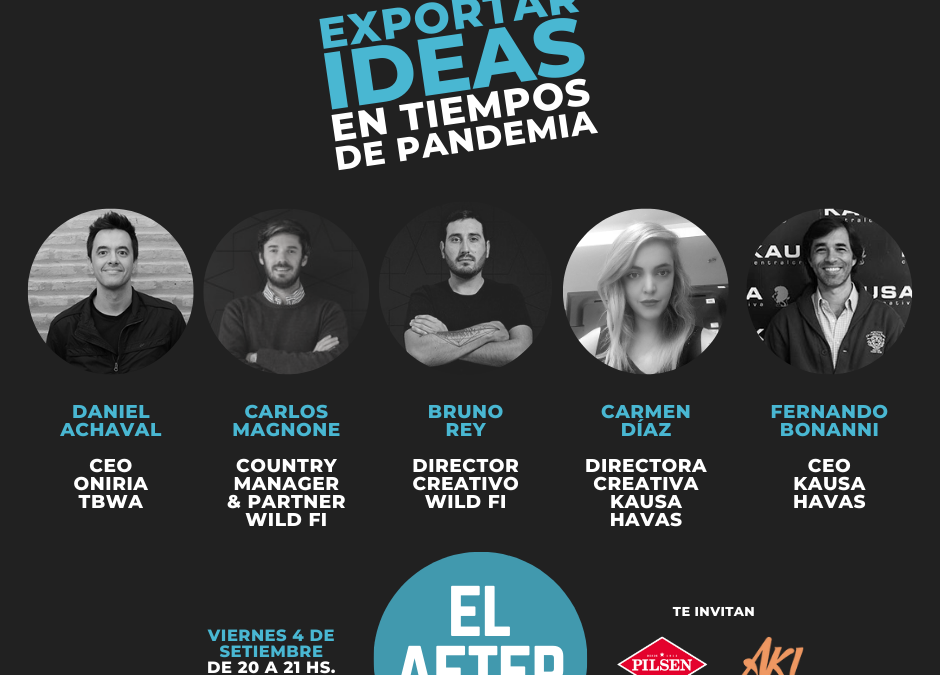 Este viernes 4 de setiembre, se viene El After con tres ideas paraguayas para el mundo